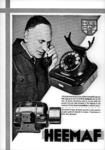 12124 FDHEEMAF021332 Reclameplaat SKA motoren en telefoon toestellen, 1936-02-06