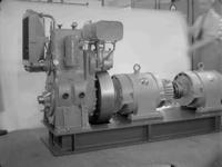 17992 FDHEEMAF059445 Diesel-generator aggregaat, bestemd voor een tentoonstelling in Mexico. Het bestaat uit een ...
