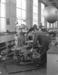 20006 FDHEEMAF064728 Freesbank van het fabrikaat Gambin , opgesteld in de Gereedschapmakerij, 1959-07-10