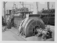 20744 FDHEEMAF058516 Dieselgedreven draaistroomgenerator met opwekker in centrale Cheribon. Het betreft een opdracht ...