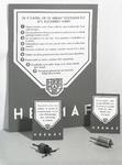 2813 FDHEEMAF053799 Etalagekaarten voor HEEMAF stofzuigers, 1938-01-07