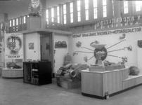 3483 FDHEEMAF055546 HEEMAF stand op de Najaarbeurs in Utrecht, 1941-09-01