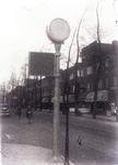 8888 FDHEEMAF021030 Verkeerslicht op granieten zuil in Amsterdam, 1931-10-19