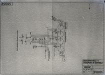 8921 FDHEEMAF021063 Tekening verkeersregelinstallatie. Schema bedieningsveld voor kruispunt in verkeerscentrale, 1931-12-22
