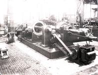 9781 FDHEEMAF030120 Nieuwe boorbank in de Grote Hal van de HEEMAF in Hengelo, 1925-12-30