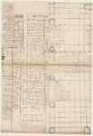 10519-KD000016 [Zonder titel]Plattegrond van de Grote of Sint Michaëlskerk te Zwolle met namen van de verhuurde ...