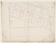 1243-KD000025 [Zonder titel]Schetstekening van de plattegrond en de opstand voor een nieuwe gevel van een winkel, ...