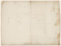 12461-KD000095 Op de achterkant geschreven: Raeckt de Betimmeringe van 't BelheemspleynSituatietekening van de gebouwen ...