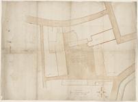 12461-KD000097 Niewe pleyn tot een marcktKaart van de aan te leggen nieuwe markt en de door het stadsbestuur te ...