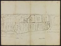 3063-KD000153 [Zonder titel]Schetskaart van de landerijen, met vermelding van de eigenaren te Katwolde, gelegen tussen ...