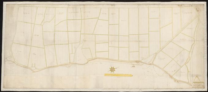 9002-KD000210 Kaart van het Zwolsche Stadsbroek / Ao. 1663 en 1664 hebbe ick ondergeschr. Lantmeeter gemeeten en ...
