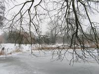 4109 DBUITERWIJK-001504 Winter en Sneeuw in Zwolle- park Hogenkamp in dieze oost., 2013-01-22