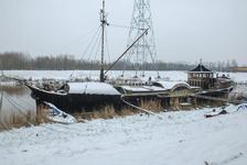 4114 DBUITERWIJK-001509 Winter en Sneeuw in Zwolle-Almelose Kanaal, 2013-01-22
