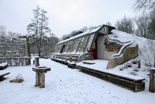 4119 DBUITERWIJK-001514 Winter en Sneeuw in Zwolle-Doepark Nooterhof aan de Goertjesweg, 2013-01-22