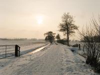 4145 DBUITERWIJK-001541 Winter en Sneeuw in Zwolle - Aa-landen-dijklanden-Urksteeg, 2013-01-22