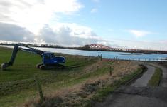 4149 DBUITERWIJK-001545 Hoog water bij de IJssel-Schellerdijk, 2013-02-07