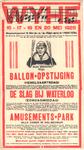 3975 Affiche met aankondigingen van diverse activiteiten ter gelegenheid van het 45-jarig bestaan van 'Wijhesch ...