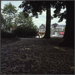 7661 DIA022111 Diezekade , Zwolle, gezien vanaf de overkant van de gracht.