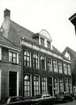 4703 FD001305 Het woonhuis van de dichter Rhijnvis Feith (1753-1824) in de Bloemendalstraat in het centrum van de stad. ...