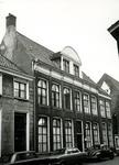 4704 FD001306 Het woonhuis van de dichter Rhijnvis Feith (1753-1824) in de Bloemendalstraat in het centrum van de stad. ...