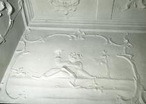 5266 FD001317 Stucwerk in het voormalige woonhuis van de dichter Rhijnvis Feith (1753-1824) in de Bloemendalstraat in ...
