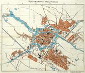 1060-KD000382 Plattegrond van Zwolle Kaart van Zwolle. komt grotendeels overeen met KD000380 in deze toegang. Zie ...