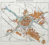 1061-KD000383 Plattegrond van Zwolle Kaart van Zwolle. Komt grotendeels overeen met KD000380 en KD000382, zie aldaar. ...