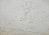1075-KD000397 Kaart Nieuwe Werk Zwolle Kadatrale kaart van het gebied rond het Nieuwe Werk (nu Engelse Werk) en het ...