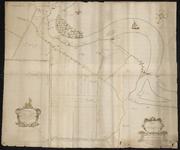 1077-KD000399 Beeldinge der Heerenbroecker Landen en Veecoten, met gedeelten van Wilsem, Uyterwijck, Voorsterslagh, ...