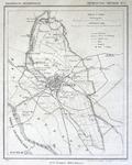 1458-KD001101 Provincie Overijssel, Gemeente Zwolle nr 1. Kaart van de gemeente Zwolle met rondom een gedeelte van ...