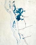 1466-KD001648 Hengforderwaarden Met potlood en viltstift overgetrokken kaart op calquerpapier uit 1842-1843 van het ...