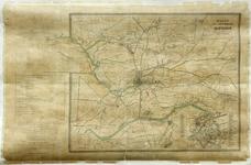 1548-KD001119 Kaart der omstreken van Zwolle, 1892-1894 Kaart van de gemeente Zwolle en directe omgeving. De verpachte ...