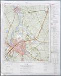1553-KD001124 Zwolle 21G Toografische kaart van het grootste deel van de stad Zwolle en van Hasselt Verkend in 1972. De ...