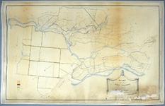 1562-KD001133 Kaart van de gemeente Zwollerkerspel met derselver weg[en], w[at]erl[e]idingen [...] Kaart van de ...