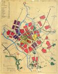 1945-KD001214 Gemeente Zwolle studie 'structuur 2000' Toekomstvisie over hoe Zwolle er in 2000 uit zou zien (met ...