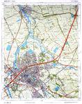 2091-KD001253 Zwolle, 21 G Topografische kaart van de gemeente Hasselt en het grootste deel van Zwolle. Het slachthuis ...