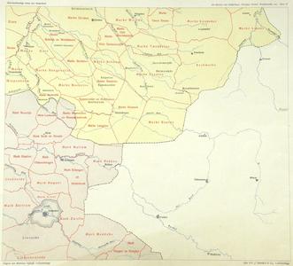 264-KD001323 De Marken van Gelderland, Overijssel, Drente, Westerwolde, enz. Blad 16 Kaart uit de Geschiedkundige atlas ...
