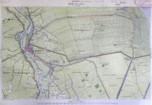 289-KD001348 Hasselt 288 Kopie van een topografische kaart van het gebied tussen Hasselt en Rouveen. De kaart is ...