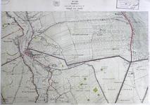 291-KD001350 Hasselt 288 Kopie van een topografische kaart van het gebied tussen Hasselt en Rouveen. De kaart is ...