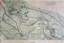 293-KD001352 Wilsum 303 IJssel-linie, blad nr 4 Kopie van een topografische kaart van het gebied tussen Spoolde en ...