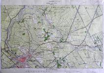 408-KD001359 Zwolle 304 Kopie van een topografische kaart van Zwolle en het gebied ten noordoosten van de stad. Verkend ...