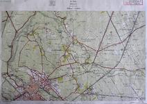 411-KD001363 Zwolle 304 Kopie van de topografische kaart van Zwolle en het gebied ten noordoosten van de stad. De kaart ...