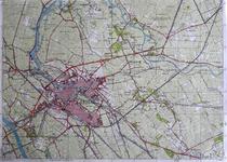 412-KD001364 21 G, zuidblad Kopie van de topografische kaart van Zwolle en het gebied ten oosten van de stad. ...