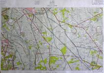 417-KD001369 Hattem 320 Kopie van een topografische kaart van Hattem en het gebied ten oosten ervan. De kaart is ...