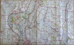 423-KD001375 Wijhen 356 Topografische kaart van het gebied tussen Wijhe en Olst. De Kaart is verkend in 1931. ...