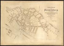 428-KD001380 Platte Grond van Assendorp Plattegrond van Assendorp, behoorende bij de Provinciale Overijsselsche en de ...