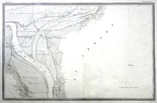 722-KD001460 Westervoort blad nr. 1 Eerste blad van de atlas van de IJssel door L.J.A. van der Kun en R. Musquetier ...