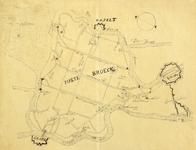 793-KD000330 [Zonder titel] Schetskaart van de polder van Mastenbroek. Waterlopen, Zuiderzee, Zeedijk, Lutterzijl, ...