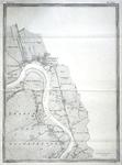 853-KD001484 Zwartsluis blad nr. 19 Negentiende blad van de atlas van de IJssel door L.J.A. van der Kun en R. ...