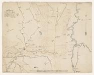 915-KD000345 Kaart van het terrrein tusschen de Dedemsvaart, de Rivier de Vecht en de Eems met aanduiding voor de ...